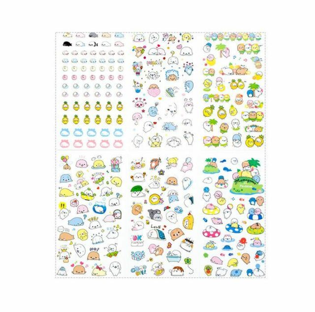 Christmas Sealing Sticker Decor Adhesive Label Paper Stickers Bag Ornaments N6D2