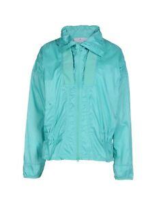 adidas-by-Stella-McCartney-Women-039-s-Shimmer-Green-Windbreaker-Jacket-Size-M