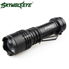 Mini Ultrafire 8000LM Q5 LED Flashlight Zoomable Portable Torch Light Lamp AA