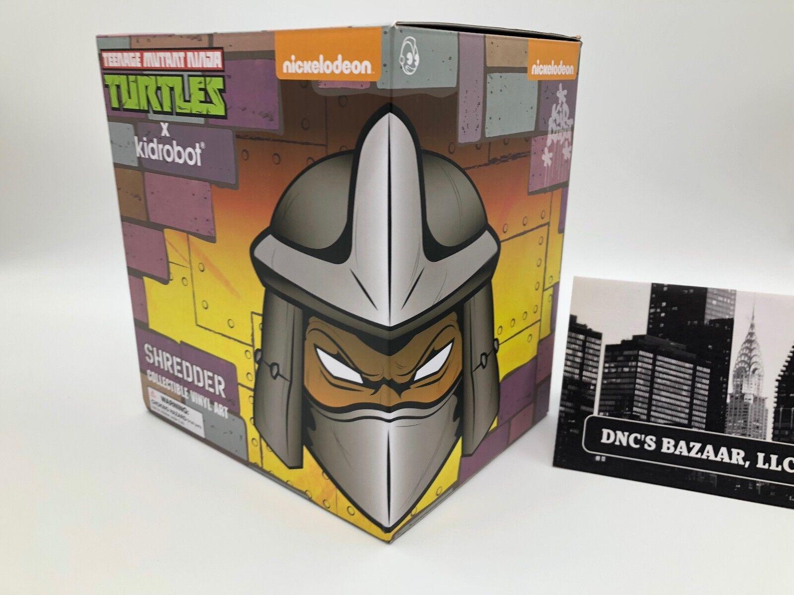 verde Shrossoder  Teenage Mutant Ninja Turtles X Kidrobot Collectible