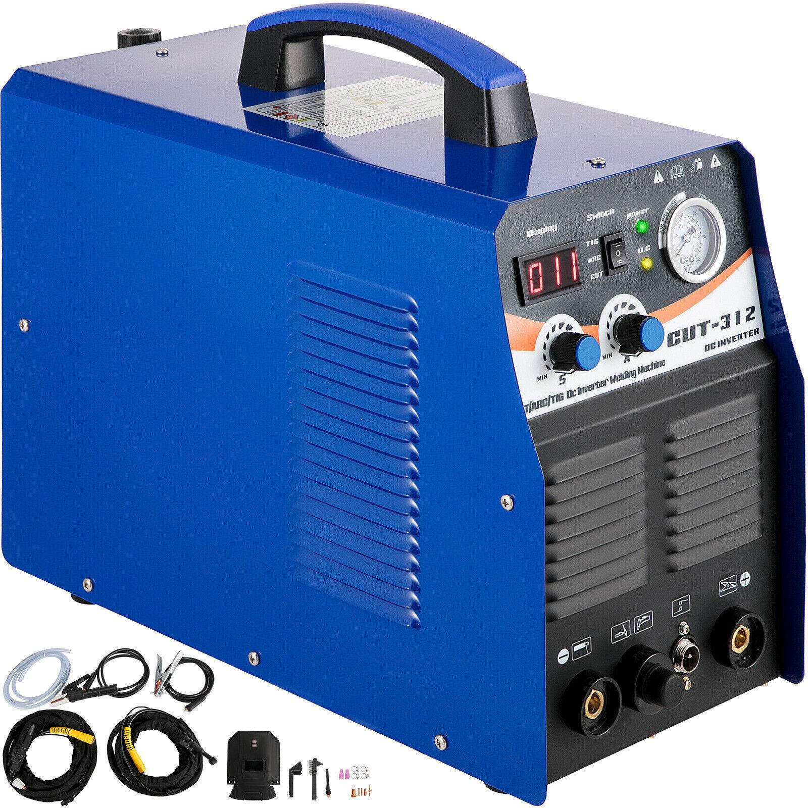 3 IN 1 Plasma cutter TIG / MMA Stick/ARC Torch Welder CT312 Blue Welding Machine. Buy it now for 271.99