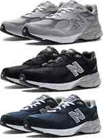 New Balance M990v3 Men's Running Shoe M990GL3 M990BK3 M990NV3 Size 8-16 Widths