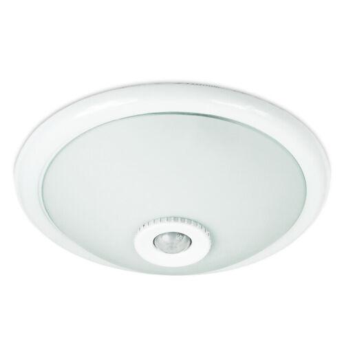 Deckenleuchte KLS.2P Deckenlampe Treppenhaus Garage Lampe Keller 12W mit Sensor