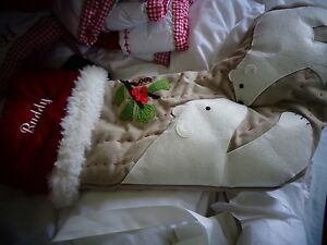 Pottery Barn Kids Woodland Polar Bear Stocking Christmas