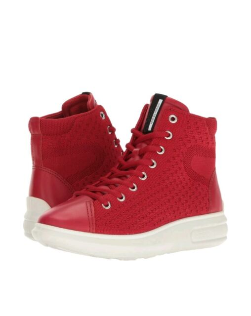 fb6081d964aa3c ECCO Womens Soft 3 Fashion Sneaker Chili Red chili Red 7 UK for sale ...