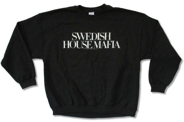 SWEDISH HOUSE MAFIA LOGO WOMENS SWEATSHIRT NEW OFFICIAL DJ HOUSE UNTIL NOW ONE