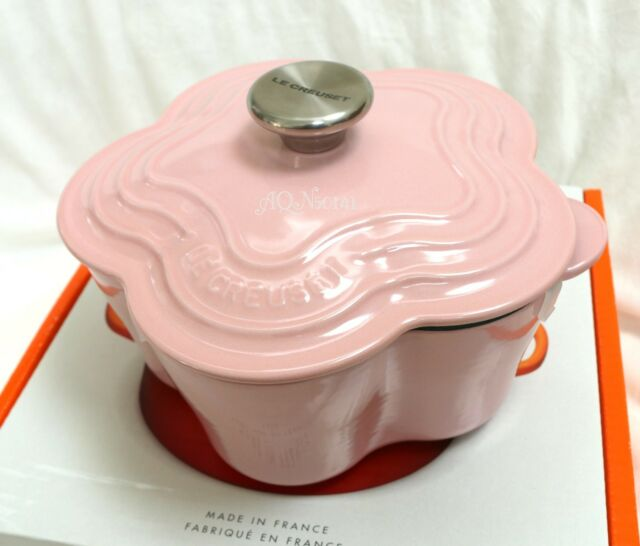 Le creuset pink chiffon flower cocotte dutch oven enamel cast iron le creuset pink chiffon flower cocotte dutch oven enamel cast iron hibiscus 22cm mightylinksfo
