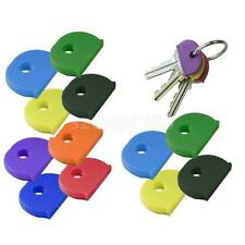 LOT 24 KEY CAP CAPS TOP COVERS TAGS ID MARKERS MARKER KEYRING MIXED COLOURS