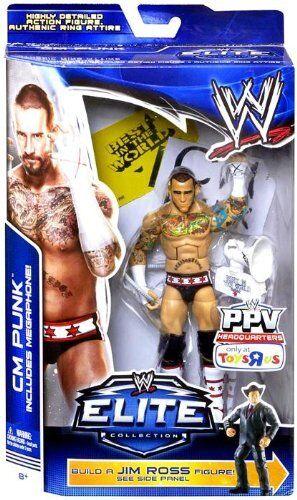 ahorra hasta un 80% WWE Elite Cm Punk Punk Punk construir un Jim Ross figura boppv TRU exclusivo Baf EE. UU. versión  deportes calientes