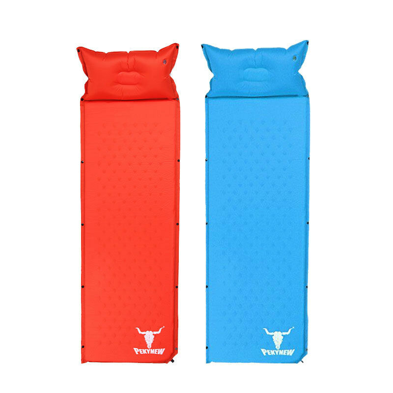 2 X NEW Hiking Self Inflating Mattress Sleeping Mat Air Bed Camping Hiking NEW Joinable 3c98be