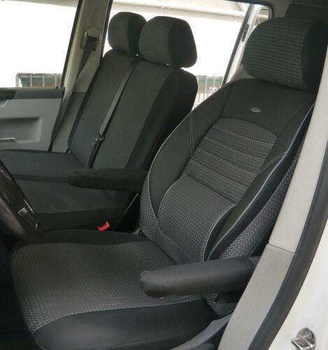 Sitzbezüge Schonbezüge VW Volkswagen T5 Transporter Fahrersitz und Bank
