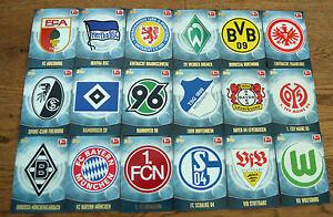 TOPPS-lega-federale-Chrome-13-14-2013-2014-Club-Carte-STEMMA-LOGO-scegliere-a-NUOVO
