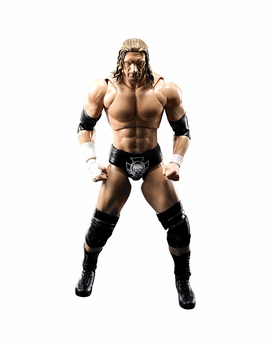 S.H.Figuarts WWE Tripre H (Hunter Hearst Helmsley) Action Figure BANDAI NEW F S