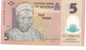Nigeria-5-naira-2009-polimero-FDS-UNC-Pick-32-b-2-Lotto-3837