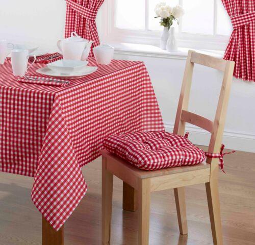 Vichy carreaux table nappe ou serviettes traditionnelle fête d/'anniversaire de noël occasions