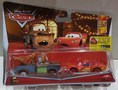 Disney Pixar Cars bon Paquet Matter /& Flash McQueen 2-Pack