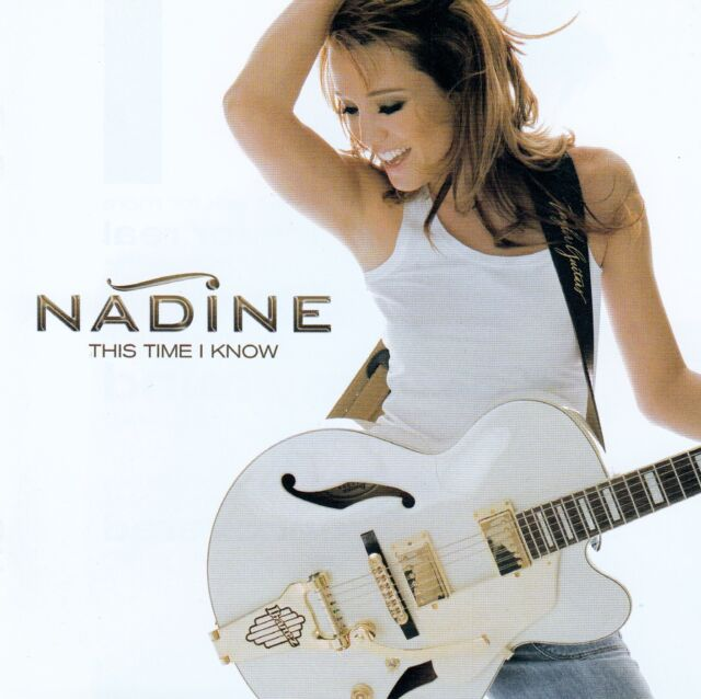 NADINE : THIS TIME I KNOW (GERMAN VERSION) / CD - TOP-ZUSTAND