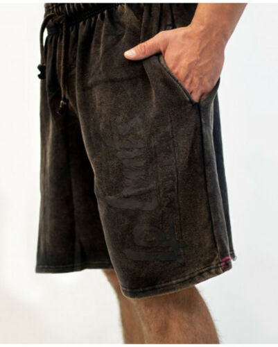 LP Limits Legal Power Stone-Washed Black Shorts  Art.6206-866 Ottomix