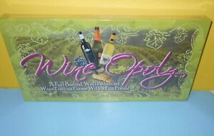 Brand New Wine-opoly Wineopoly Board Game Wine Trading Game