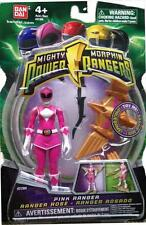 """Mighty Morphin Power Rangers Pink 4"""" w Light up Dino Fly 2010 New Factory Sealed"""