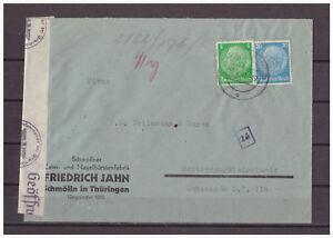 Empire-Allemand-Zensurbrief-Minr-515-521-Schmolln-apres-Rotterdam-07-04-1941