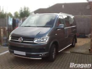 Per-2015-VW-Transporter-T6-Caravelle-Acciaio-Paraurti-Anteriore-Spoiler