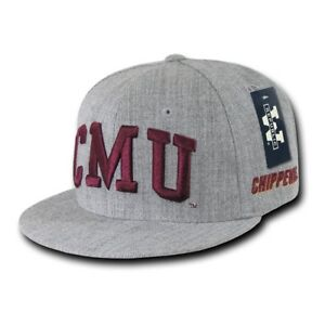 8db0a181aa432 Image is loading NCAA-CMU-Central-Michigan-University-Chippewas-Game-Fitted-