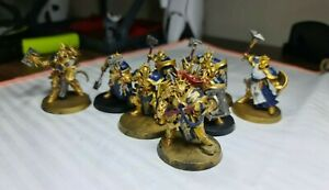 Age-of-Sigmar-PAINTED-Stormcast-Eternals-Liberator-X-5-Paladin-X-2-Sequitor-X-1