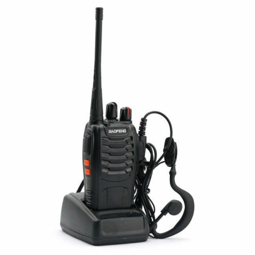 6x Baofeng BF-888S 16Channel 5W CTCSS Dual-Band Two-way Ham Radio Walkie Talkie