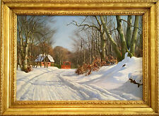 Harald Pryn (1891-1968) Danish Oil Painting
