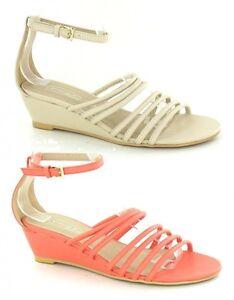 donna punta aperta sandalo con cinturini F10122