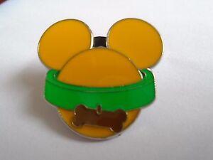 Disney's Pluto Mickey Mouse Head Pin Badge