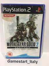 METAL GEAR SOLID 2 SUBSTANCE SONY PS2 - NUOVO SIGILLATO NEW SEALED PAL UK