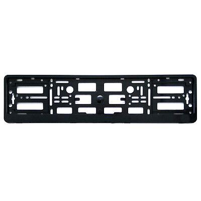 Number Plate Holder Surround Shiny Black Frame Trim Gift For Audi