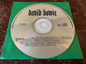 DAVID-BOWIE-HOURS-MUSIC-CD-1999-PROMOTIONAL-LOOSE