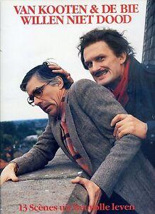 VAN-KOOTEN-amp-DE-BIE-willen-niet-dood-HOLLAND-NEAR-MINT-LP-1987