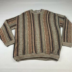 Vintage-Megalos-Groesse-2xl-Herren-COOGI-Style-Bill-Cosby-Pulli-90-039-s-Cobain-Biggie