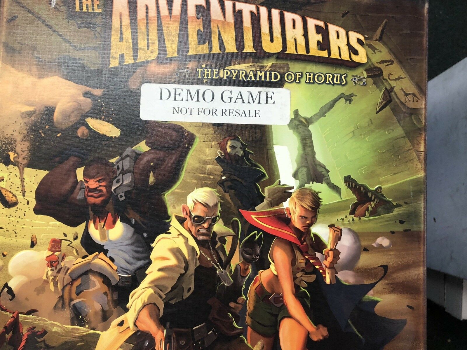 The Adventurers Board Game Fantasy Flight Store demo