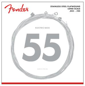 Fender 9050 M flatwound Saitensatz E-Bass 055-105 4-SaiterNeu