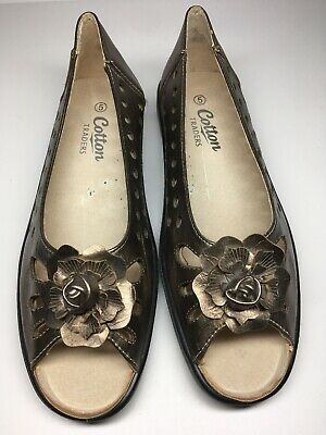 (12) Ladies Size 5 Shoes Casual - Cotton Traders: Appear Unworn Vgc (see Notes)