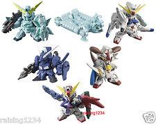 BANDAI SD Gundam Next Real Color 3 Gashapon Figure (Set 6 pcs) Unicorn Destiny