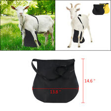 Anti Mating Anti Breeding Control Apron With Harness For Goatssheep Small Black