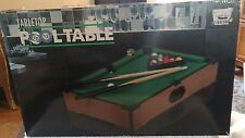 Tabletop Pool Table By My Ego! Realistic Pool Table Play! In original box