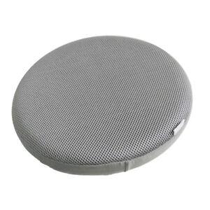 14inch Dia Gray Round Bar Stool Cover, Round Bar Seat Cushions