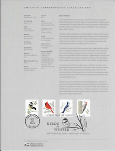 1830-50c-Forever-Birds-of-Winter-5317-5320-Souvenir-Page