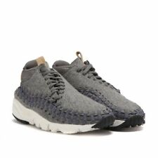 newest 1fe4f 920db item 2 NIKE Air Footscape Woven Chukka SE Men 9.5 Wool Grey Sail Vachetta  857874 002 -NIKE Air Footscape Woven Chukka SE Men 9.5 Wool Grey Sail  Vachetta ...
