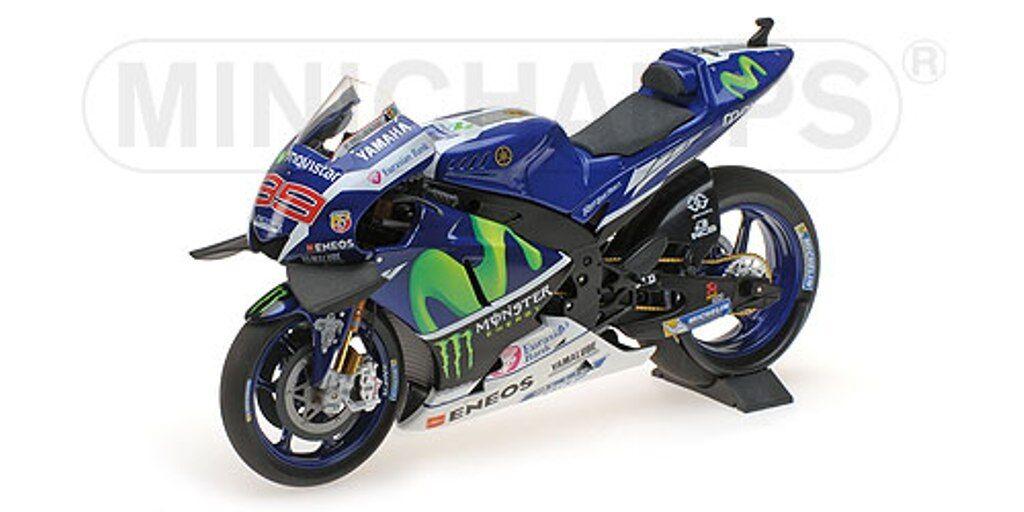 MINISTAMPS 122 163099 YMAHA YZR M1 modellllerl för motorcykeln J Lorenzo MotoGP 2016 1 12