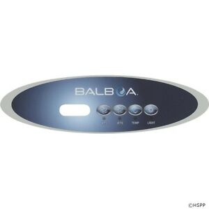 Balboa Hot Tub >> Balboa Spa Hot Tub Control Overlay Decal Mvp260 Vl260 4 Button