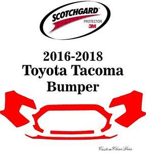 3M Scotchgard Paint Protection Film Pre-Cut Kit 2016 2017 2018 Toyota Tacoma