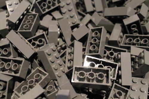 in Neu Dunkel Grau 100 x LEGO® Brick Dark Bluish Gray 3001 Steine 2x4